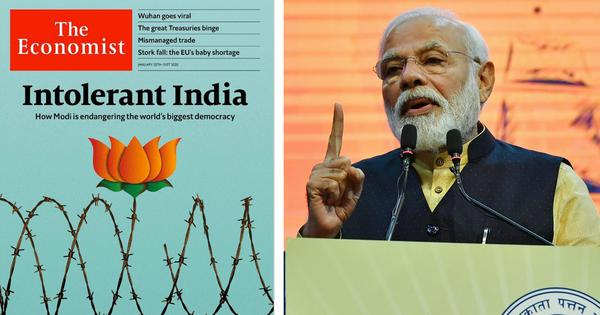 Not just the Economist: Modi's image in the global press has taken a beating in the last two months