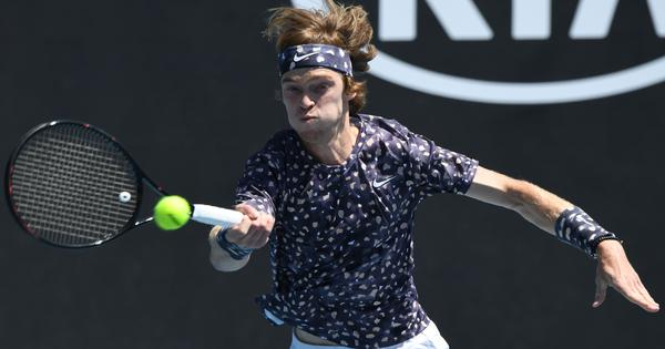 Amazing but not thinking about it, says Andrey Rublev after extending 2020 winning streak to 11