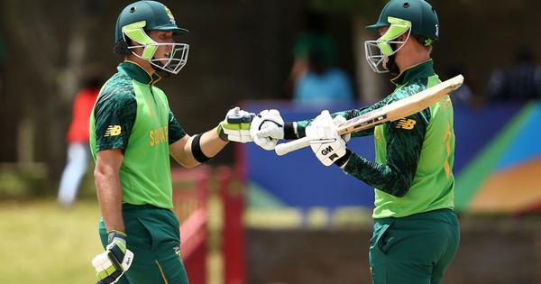 ICC U-19 World Cup: South Africa set up quarter-final with Bangladesh, England grab first win