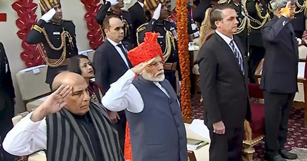 Republic Day: Parade begins, Narendra Modi pays tribute at National War Memorial