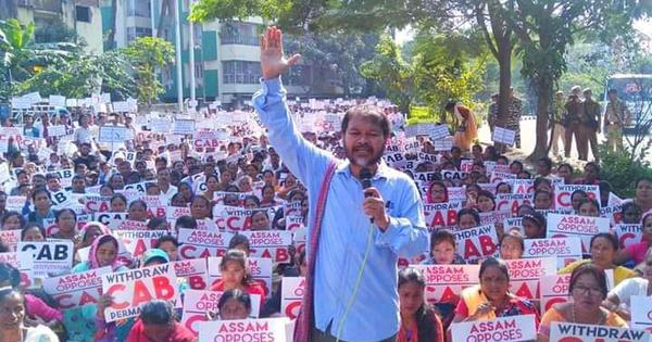 CAA protests: Akhil Gogoi arrested again, two days after being granted bail