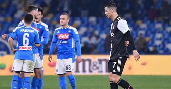 Serie A: Napoli shock leaders Juventus 2-1, Inter Milan held by Cagliari