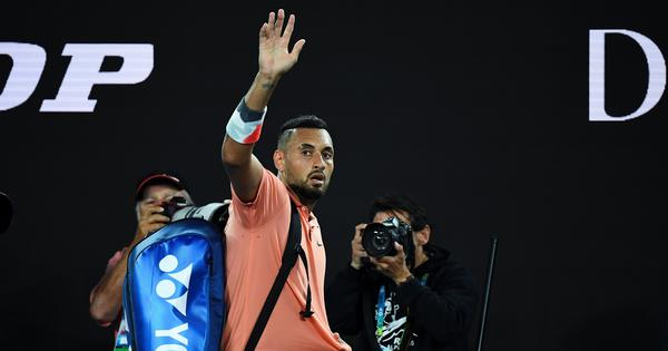 I've made progress as a human: Kyrgios in reflective mood after Australian Open loss to Nadal