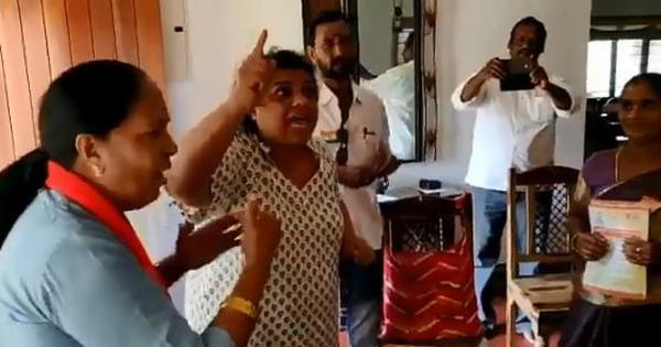 Watch: BJP workers paid a visit to a lawyer's home in Chennai to 'explain CAA'. Here's what happened