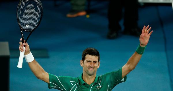 Australian Open: Novak Djokovic powers past Milos Raonic to set up semis clash with Roger Federer