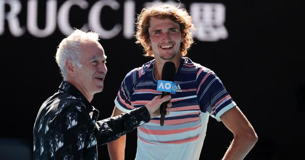 Watch: Feeling 'awesome', Zverev jokes about father's coaching, renews pledge for bushfire relief