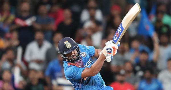 'Most natural six hitter in cricket': Twitter hails Rohit Sharma's Super Over heroics against NZ