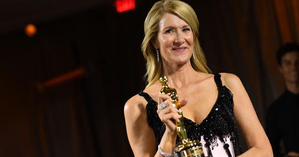 'Best birthday present ever': Laura Dern wins the Best Supporting Actress Oscar for 'Marriage Story'