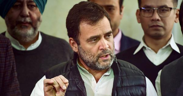 Rahul Gandhi claims it is 'in the DNA' of BJP and RSS to try to get rid of reservations