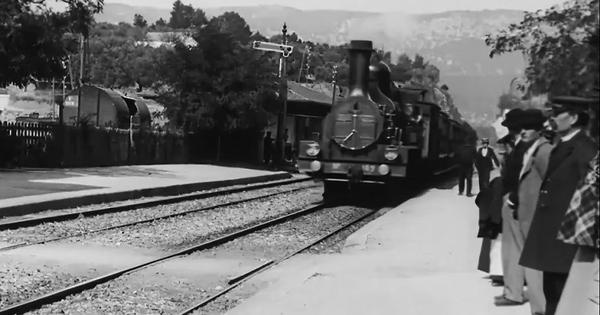 Whose train is it anyway? A debate rages over 'upscaled' version of the Lumiere brothers' film