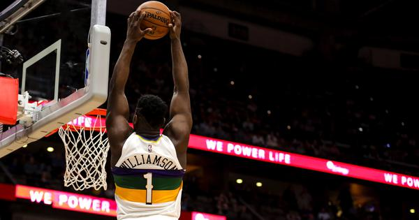 NBA wrap: Williamson shines as Pelicans roll over Trail Blazers; 76ers, Rockets post big wins