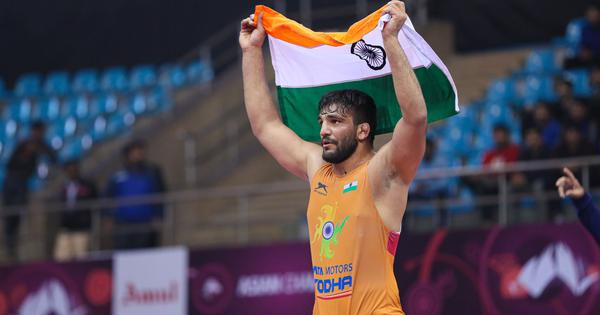 Asian Wrestling C'ships: Sunil Kumar ends India's 27-year wait for a Greco-Roman gold at event