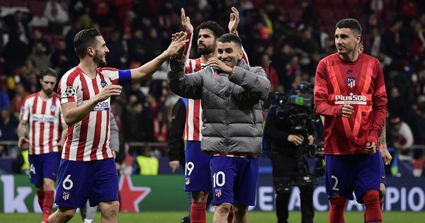 Champions League: Niguez's goal, spirited defending helps Atletico Madrid upset Liverpool