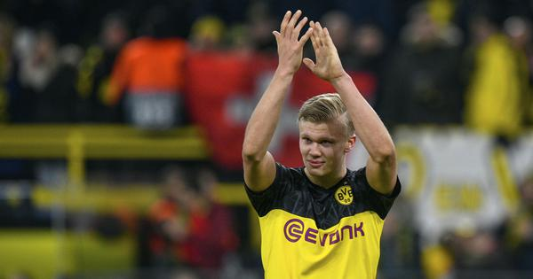 Champions League: Haaland outshines PSG superstars with a brace as Borussia Dortmund win 2-1
