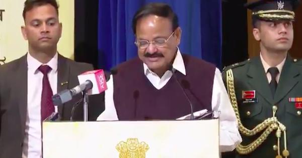 Watch: Venkaiah Naidu speaks in 22 Indian languages in a single speech for Mother Language Day