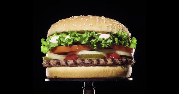 Watch: Burger King ad features mouldy burger to announce it is going preservative-free