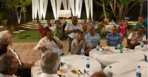 Watch: SP Balasubrahmanyam sings 'Jothe Jotheyali' at a dinner table, almost forty years later