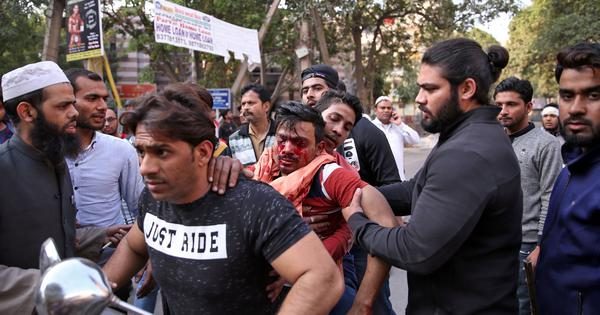 'Once Trump leaves, Muslims will not be safe': Violent Hindu crowds roam North East Delhi