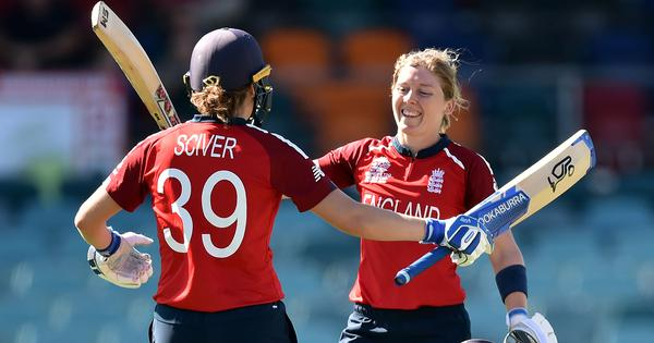 T20 World Cup: Heather Knight's record century guides England to huge win over Thailand