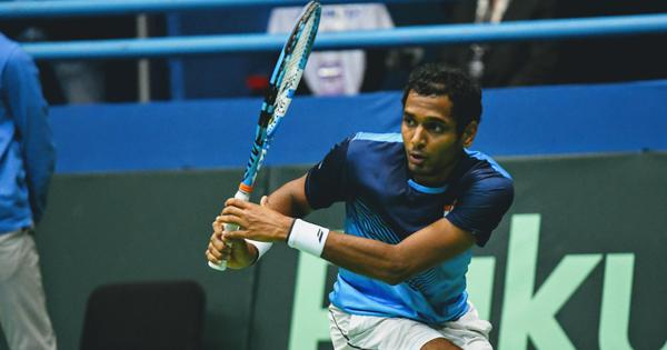 Davis Cup: Ramkumar goes down fighting to Cilic, Prajnesh squanders lead as India trail Croatia 0-2