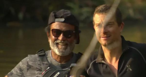 Watch: Rajinikanth hangs out with Bear Grylls in upcoming 'Into The Wild' episode