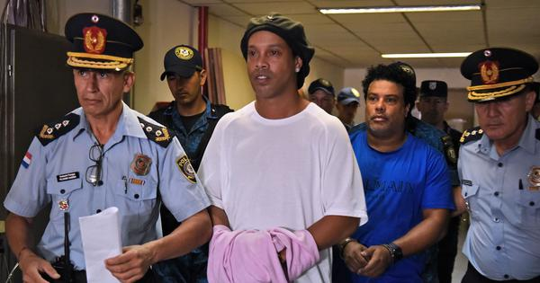 Football: Ronaldinho hoping to be released after over two months in Paraguayan detention centre