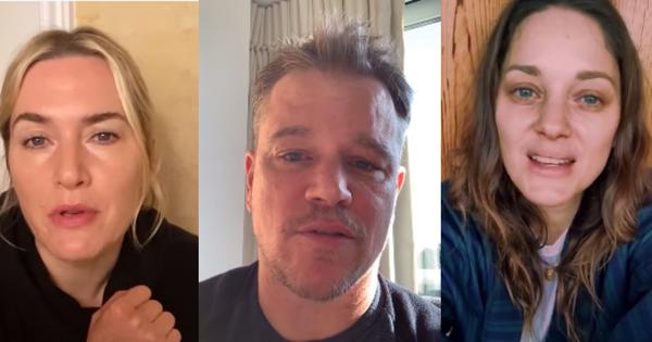 Message from 'Contagion' movie cast: 'Until we have a cure, you can be that'