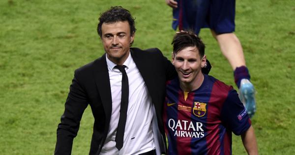 Can't teach him certain things as he's an artist: Enrique talks on coaching Messi at Barcelona
