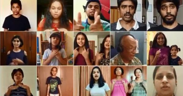 Watch: Choirs in Bengaluru, Nagaland give virtual performance during social distancing