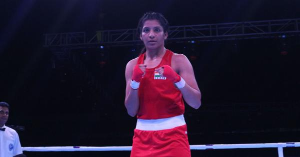Boxing: How Simranjeet Kaur dropped a weight category and punched her way to the Olympics