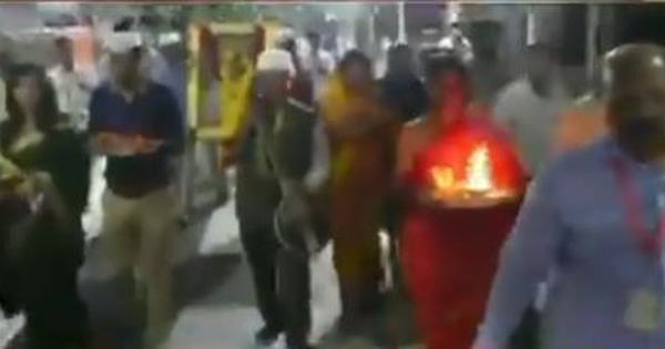 Watch: Ram Navami prayers in Shirdi ignore social distancing norms