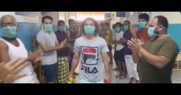 Coronavirus: Patient leaves Kerala hospital after recovery, medical staff and other patients cheer