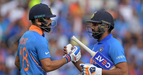 The arcs of Virat Kohli and Rohit Sharma's wildly contrasting ODI careers are finally meeting