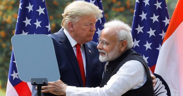 Donald Trump Modi