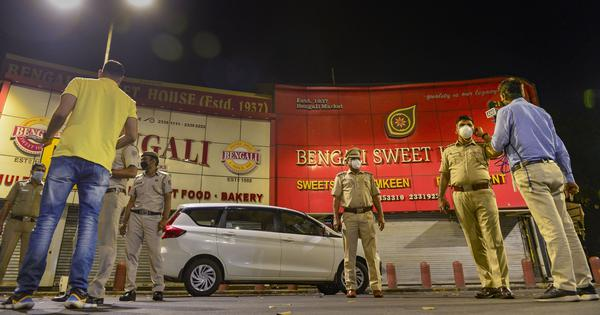 Covid-19: Delhi Police seal Bengali Market after 35 workers found living in pastry shop