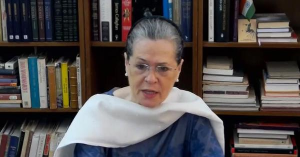 Arnab Goswami WhatsApp chats: 'Government's silence is deafening,' says Congress chief Sonia Gandhi
