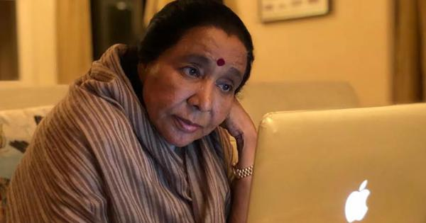 Asha Bhosle kickstarts her YouTube channel with song for Art of Living founder Ravi Shankar