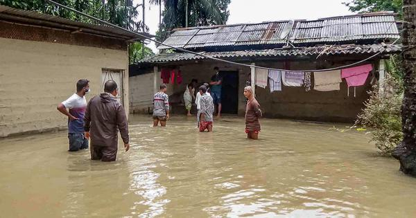 Assam: Nearly 2 lakh people affected, over 8,000 shifted to relief camps in first wave of floods
