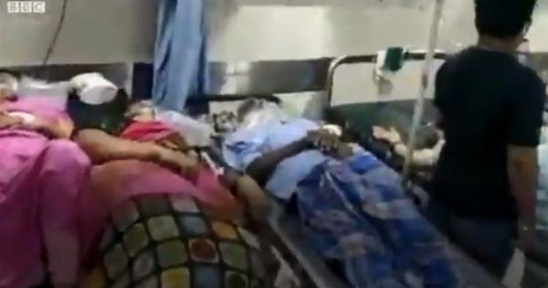 Covid-19: Patients forced to share beds inside overcrowded emergency ward of Mumbai hospital