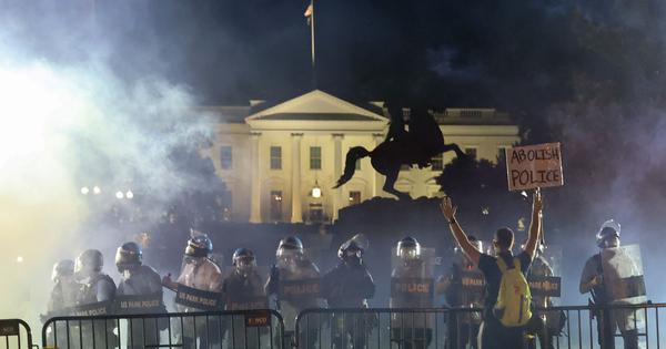 George Floyd death: Donald Trump took shelter in White House bunker as protests raged, say reports