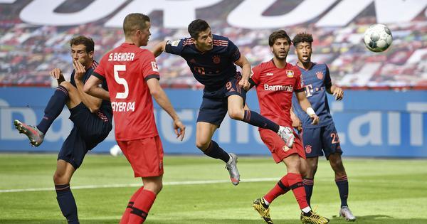 Bundesliga: Bayern Munich close in on title with comeback win over Leverkusen