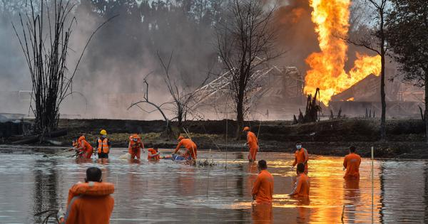 The story of the Assam gas leak – and the intricate operation to plug it