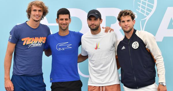 Don't understand why everyone is getting involved: Thiem defends Djokovic, Zverev for Adria Tour