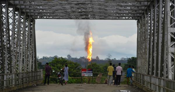 Assam: Final operation to douse fire at Baghjan gas well fails
