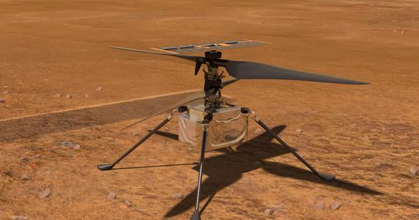 'Ingenuity': This video shows how NASA will deploy a helicopter on the surface of Mars