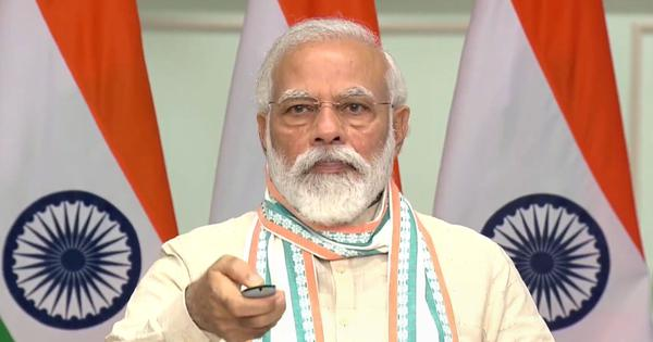 As petrol prices surge over Rs 100, PM Modi blames previous governments - Scroll.in