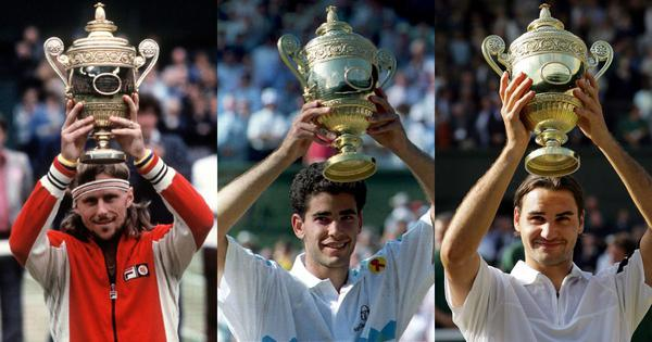 Grass greats: Federer's records to Borg, Sampras' Wimbledon runs, top ATP players on the green lawns