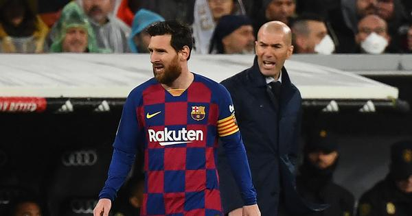 We want the best in La Liga: Real Madrid coach Zinedine Zidane hopes Lionel Messi stays at Barcelona