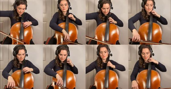 Watch: 'Airwolf' show soundtrack covered by a talented artist playing eight cellos 'simultaneously'