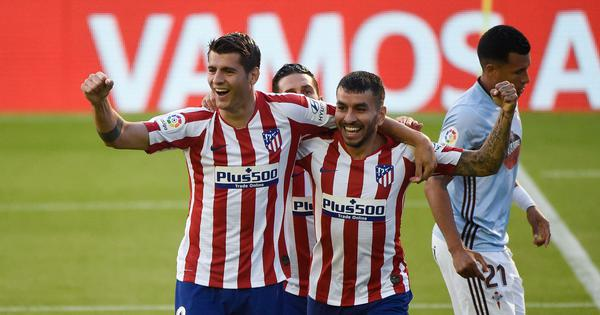La Liga: Atletico Madrid's wait to seal Champions League berth continues with 1-1 draw at Celta Vigo